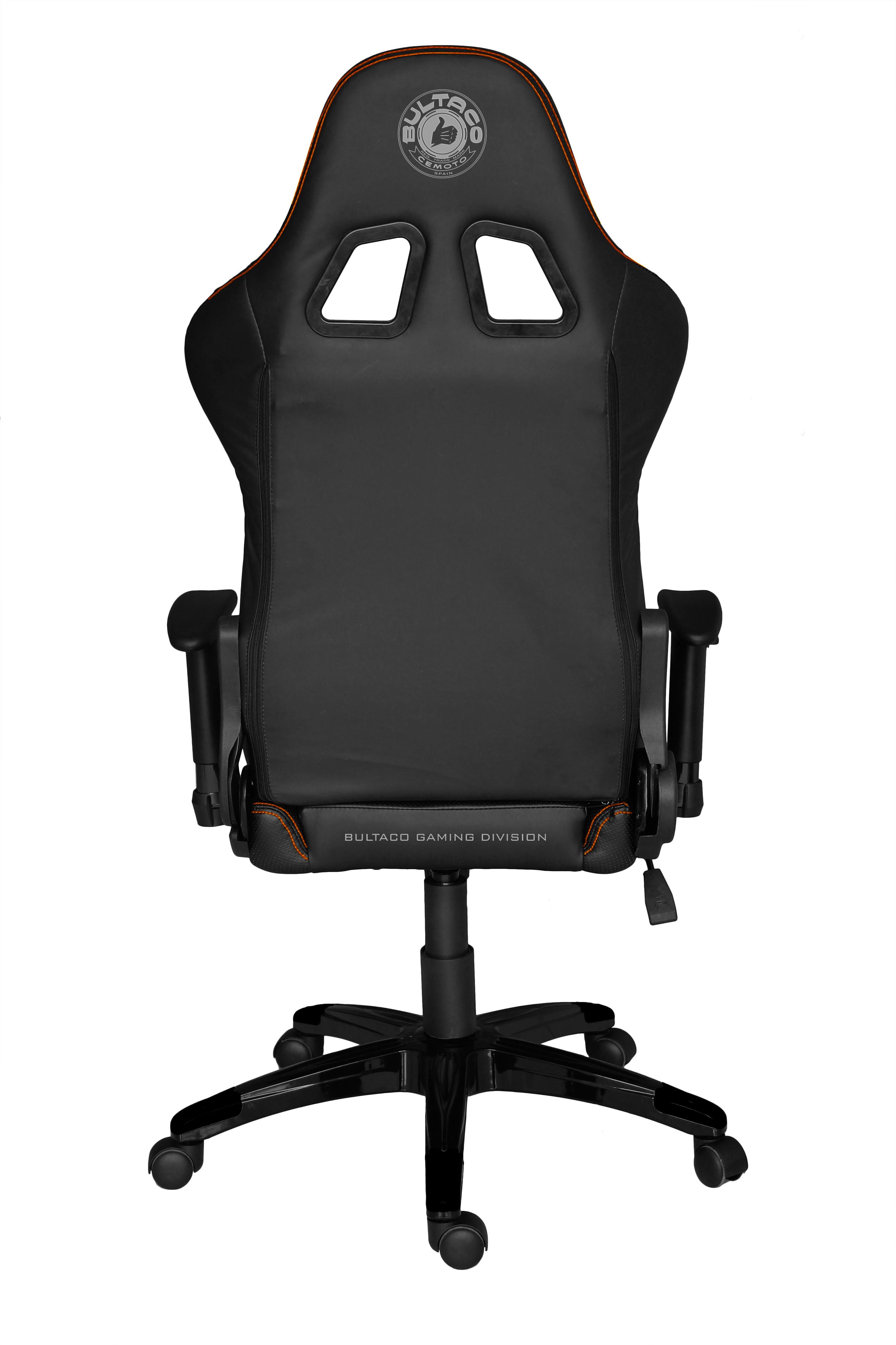 Bultaco gaming division negro naranja silla gaming - Bultaco silla gaming ...