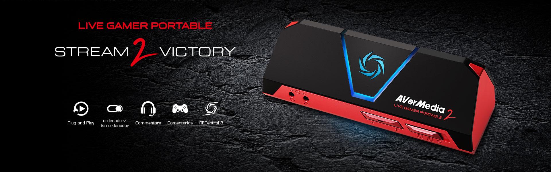 avermedia live gamer portable 2 capturadora. Black Bedroom Furniture Sets. Home Design Ideas