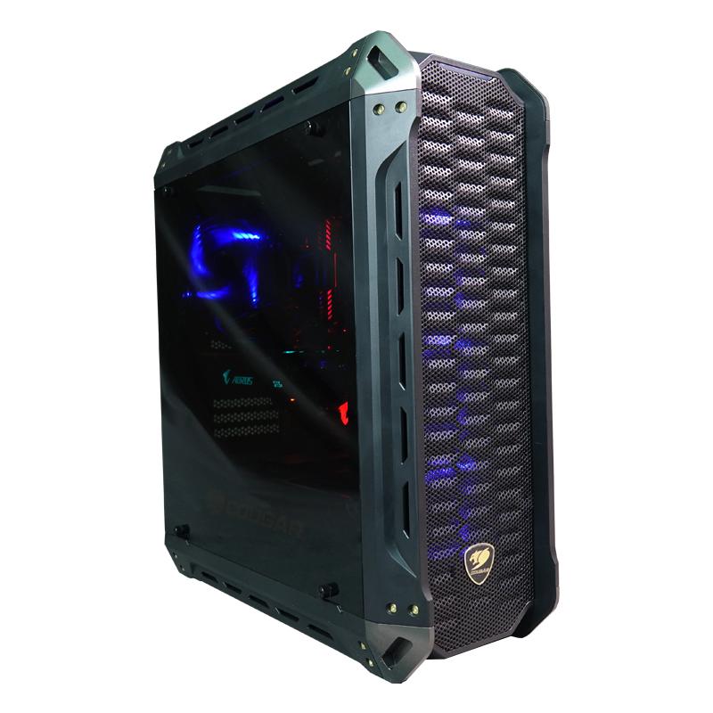 CoolPC Ryzen V - R5 1600X / GeForce GTX 1070 8Gb / 8GB DDR4 / SSD 120Gb + 1Tb HDD / B350