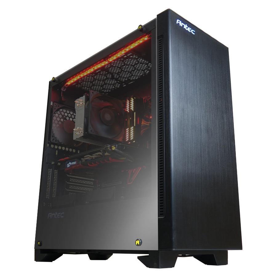CoolPC Ryzen VIII - R7 1800X / GTX 1080 Ti 11Gb / 16GB DDR4 / SSD M.2 240Gb + 1Tb HDD / X370