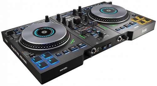 Hercules dj control jogvision mesa de mezclas dj for Programa mesa de mezclas