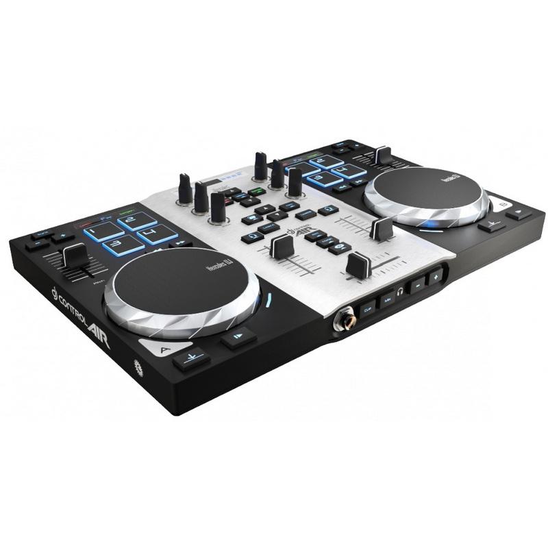 Hercules djcontrol air s series mesa de mezclas dj for Mesa de mezclas dj