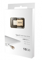Adata UC350 16GB USB 3.1 Type-C Dorado - Pendrive USB