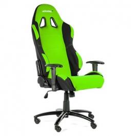 AKRacing AK-7018 Negra/Verde -Silla Gaming