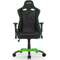 AKRacing NW Negro/Verde- Silla Gaming
