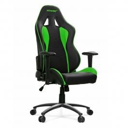 AKRacing Nitro Negra/Verde - Silla Gaming