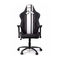 AKRacing Rush Negro/Blanco - Silla Gaming