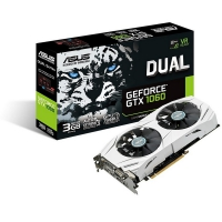 Asus GeForce GTX 1060 DUAL 3GB GDDR5 - Tarjeta Gráfica