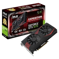 Asus GeForce<span class='trademark-category'>&reg;</span> GTX 1070 Expedition OC 8GB GDDR5 - Tarjeta Gráfica