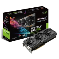 Asus GeForce<span class='trademark-category'>&reg;</span> GTX 1080 Strix O8G 11 Gbps 8GB GDDR5 - Tarjeta Gráfica