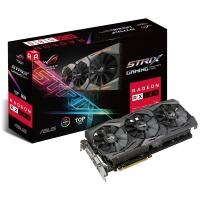 Asus Radeon ROG Strix RX 580  T8G Gaming 8GB GDDR5 - Tarjeta Gráfica