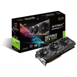 Asus ROG Strix GeForce<span class='trademark-name'>&reg;</span> GTX 1080 OC 8GB 11Gbps GDDR5X - Tarjeta Gráfica