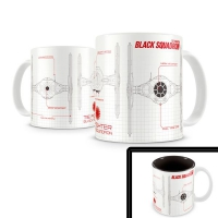 Black Squadron Blueprint Star Wars Episodio VII - Taza