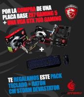 Bundle MSI - Z97 Gaming 5 + Geforce GTX760 - Regalo Cooler Master Devastator
