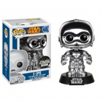 C3PO Chrome Funko POP Star Wars Edición Limitada - Figura