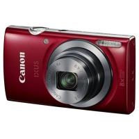Canon Ixus 160 Roja + SD8GB + Funda - Camara