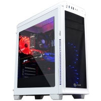 CoolPC Ryzen III - R5 1500X / GeForce<span class='trademark-category'>&reg;</span> GTX 1060 6Gb / 8GB DDR4 / SSD 120Gb + 1Tb HDD / B350