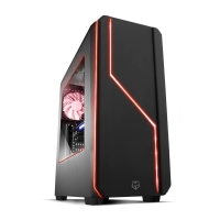 CoolPC Ryzen IV - R7 1700 / GeForce<span class='trademark-category'>&reg;</span> GTX 1060 6Gb / 8GB DDR4 / SSD 120Gb + 1Tb HDD / B350