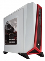 Corsair Carbide Spec-Alpha Blanco/Rojo - Caja/Torre