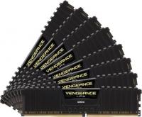 Corsair Vengeance LPX Black 128GB (8x16GB) 2400MHz (PC4-19200) CL14 - Memoria DDR4