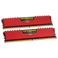 Corsair Vengeance LPX Red 16GB (2x8GB) 2400Mhz (PC4-19200) CL14 - Memoria DDR4