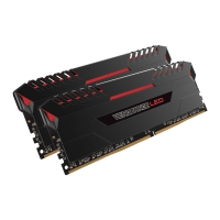 Corsair Vengeance Red LED Series 16GB (2x8GB) 2133MHz (PC4-2400) C15 - Memoria DDR4