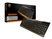Cougar 200K Gaming Negro (US) - Teclado