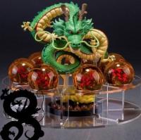 Dragón Shenron Con Pedestal + 7 Bolas de Dragón - Figura