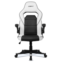 Drift DR75 Blanco/Negro - Silla Gaming