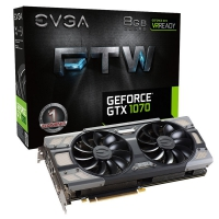 Evga GeForce GTX 1070 FTW Gaming 8GB GDDR5 - Tarjeta Gráfica
