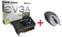 Evga GeForce GTX 750Ti SC  + Evga TorQ X3 - Bundle