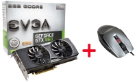 EVGA GeForce GTX 960 SSX ACX 2.0+ + Evga TorQ X3 - Bundle