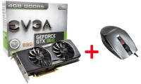 Evga GeForce GTX 960  SuperSC ACX 2.0+ 4GDDR5 + Evga TorQ X3 Gaming