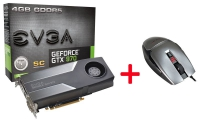 Evga GeForce GTX 970 SC+ Evga TorQ X3 - Bundle
