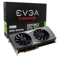 Evga GeForce GTX 980 Ti Classified ACX 2.0+ 6GDDR5 - Tarjeta Gráfica