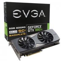 EVGA Nvidia GeForce GTX 980 Ti Superclocked+ ACX 2.0+ 6GB DRR5 - Tarjeta Gráfica