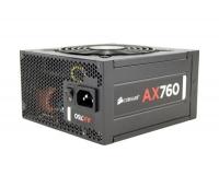 Fuente Alimentación Corsair AX760 Modular - 750 W - 80+ Platinum