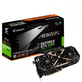 Gigabyte AORUS Geforce<span class='trademark-name'>&reg;</span> GTX 1080 Xtreme Edition 8GB 11Gbps GDDR5X - Tarjeta Gráfica