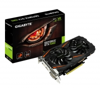 Gigabyte GeForce<span class='trademark-category'>&reg;</span> GTX 1060 Windforce OC 3GB GDDR5 - Tarjeta Gráfica