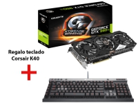 Gigabyte GeForce GTX 980 Ti Xtreme Gaming Windforce 3X 6GB + Corsair Raptor K40 - Bundle