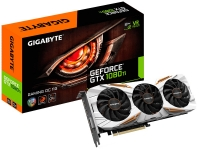 Gigabyte GeForce<span class='trademark-category'>&reg;</span> GTX 1080 Ti Gaming OC 11GB GDDR5X - Tarjeta Gráfica