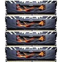 G.Skill Ripjaws DDR4 16GB (4 x 4 GB 2400MHz) CL15 Negra - Memoria RAM