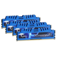 G.Skill Ripjaws X Blue 32GB (4x8GB) 2133MHz PC3-17000 CL10 - Memoria DDR3