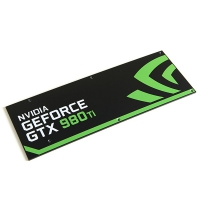 CM Modding GTX 980 Ti Compatible Reference Design (Geforce<span class='trademark-category'>&reg;</span> 3) - Backplate