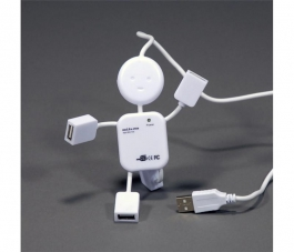 Hub USB 2.0 4 Puertos Humanoide - Outlet