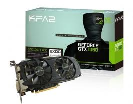 KFA2 GeForce<span class='trademark-name'>&reg;</span> GTX 1060 EXOC 6GB GDDR5 - Tarjeta Gráfica