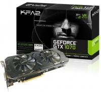 KFA2 GeForce<span class='trademark-category'>&reg;</span> GTX 1070 EXOC SNPR RGB Black 8GB GDDR5 - Tarjeta Gráfica
