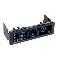 Lamptron CM430 Azul - Panel Frontal