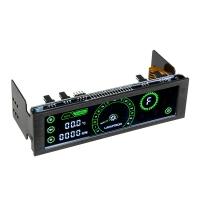 Lamptron CM430 Verde - Panel Frontal