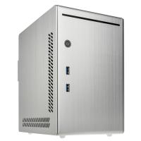 Lian Li PC-Q20A USB 3.0 Plata - Caja/Torre